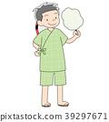 초등학생 7 살 소년 _ 유카타 1 39297671