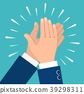 hand, clapping, vector 39298311