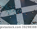 Aerial view of a big intersection in Tokyo 39298388