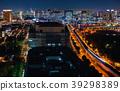 Aerial view of Tokyo, Japan 39298389