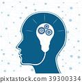 brain, background, concept 39300334