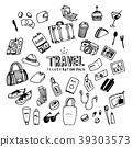 Travel Illustration Pack 39303573
