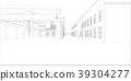Industrial buildings outline 39304277