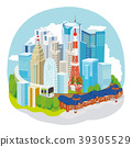 東京城市景觀圖 39305529
