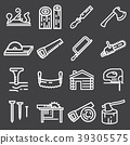 carpentry, tools, icons 39305575