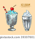 cream, ice, food 39307601