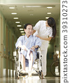 醫院輪椅老人 39310273