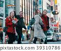 前往东京的外国游客 39310786