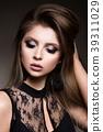 Beauty Woman face Portrait. Beautiful model Girl 39311029