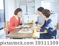 女人和朋友一起吃飯 39311309