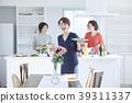 ผู้หญิงกำลังทำอาหาร 39311337