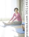 Women who do yoga 39311483