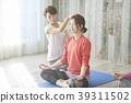 做瑜伽的女人 39311502