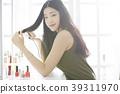 女性美图像头发安排 39311970