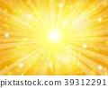 金径向闪闪发光的背景 39312291