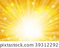 金径向闪闪发光的背景 39312292