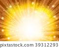 金径向闪闪发光的背景 39312293