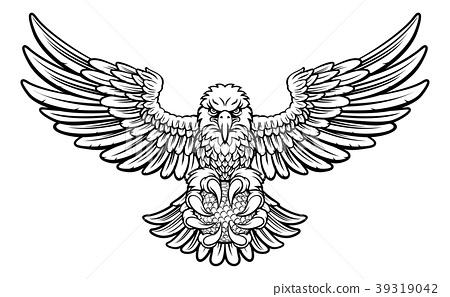Eagle Golf Sports Mascot 39319042