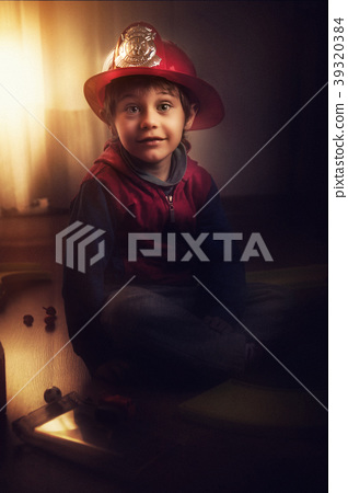fireman child 39320384