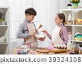 kitchen, girl, boy 39324108