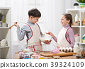 kitchen, girl, boy 39324109