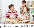 mother, baking, cookie 39324239