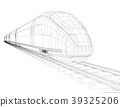 abstract, train, high-speed 39325206