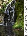 waterfall, river, mountain 39328095