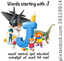 Poster design for words starting with J 39329914