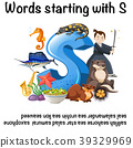 English poster for words starting with s 39329969