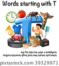 Poster design for words starting with T 39329971
