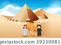 阿拉伯 金字塔 骆驼 39330081