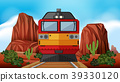Train ride through the desert 39330120