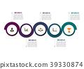 option, infographic, circle 39330874