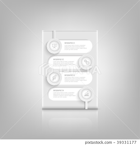 Infographic design vector and marketing icons. 39331177