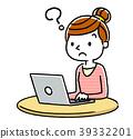 女人:互联网,电脑 39332201