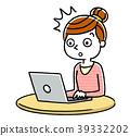 女人:互聯網,電腦 39332202