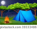 background, camping, night 39333486