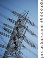 pylon, steel tower, power line 39333686