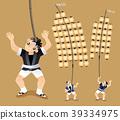 Japanese Pole Lantern festival performers 39334975