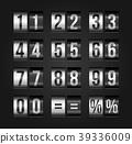 Scoreboard numbers. 39336009
