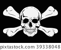 Illustration Vector Graphic Skull Pirate 39338048