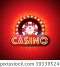 casino, vector, illustration 39339524