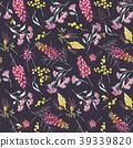 pattern, seamless, floral 39339820