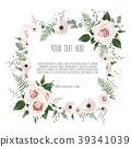 Vector botanical card.  39341039
