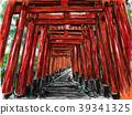 稻荷神社 神殿 鸟居 39341325