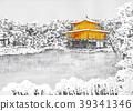 Snow Kinkakuji 39341346