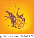 drop, mango, milk 39346175