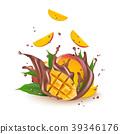 mango, milk, chocolate 39346176