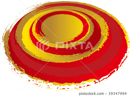 Handwriting of gold and red vortices 39347994